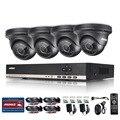 ANNKE Безопасности CCTV 720 P 8-КАНАЛЬНЫЙ День Ночь ИК 4 шт. 1.3 MPCameras Kit High Definition Video Surveillance DVR CCTV система