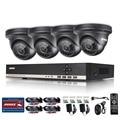 Annke cctv segurança 720 p 8ch day night ir 4 pcs 1.3 mpcameras kit dvr cctv de vigilância de vídeo de alta definição sistema