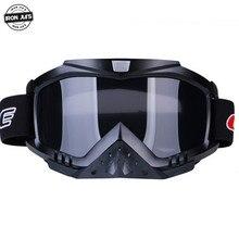 Motorcycle Goggles Windproof Glasses Dustproof Motocross Off Road Helmet Mask Racing Goggles Ski Goggles Outdoor Sports Glasses