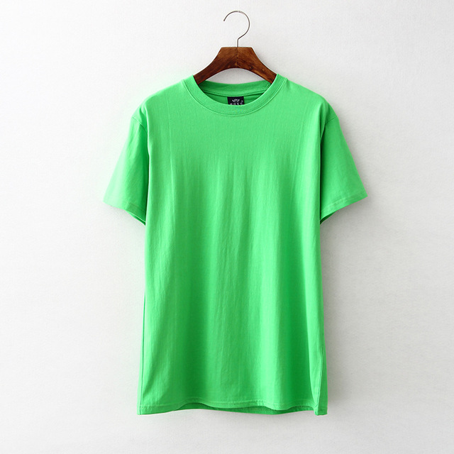 3025G/3026G/3024G Multicolor cotton short sleeve round collar T-shirt printing embroidery 1