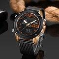 LIGE новые мужские часы модные спортивные водонепроницаемые мужские часы Топ люксовый бренд LED двойной дисплей Кварцевые часы мужские Relogio ...