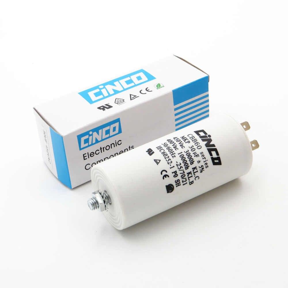 30uF 400V 450V CBB60 Motor Run Capacitors 4pins SH DB Polypropylene Nch Grinder V Wiring Diagram on