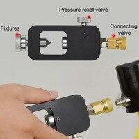 Durable Water Lung Adapter Mini Diving Tank Black Underwater Freedom Breath Equipment Pressure Transfer