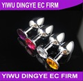 Stainless Steel Butt Plugs Crystal Jewelry Anal Butt Plug Metal Anal Plug Anal Toys
