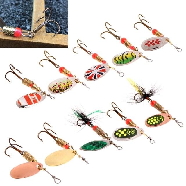 Fishing Lure easy shiner błystka na ryby cekiny błyskotka metalowa twarda przynęta podwójny zestaw haczyków Tackle dropshipping