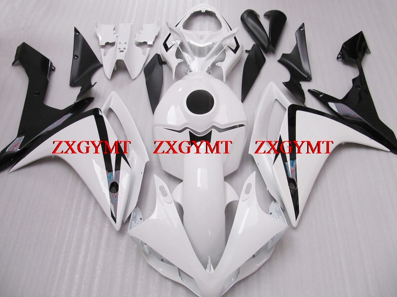 Abs Fairing for YZFR1 2007 - 2008 Full Body Kits YZF1000 R1 08 White Black Fairings YZF1000 R1 2008Abs Fairing for YZFR1 2007 - 2008 Full Body Kits YZF1000 R1 08 White Black Fairings YZF1000 R1 2008