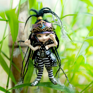 Image 5 - Darmowa wysyłka Fairyland Realpuki AKIa1/13 lalki BJD różowy uśmiech elfy zabawki dla dzieci prezent dla chłopców dziewcząt urodziny