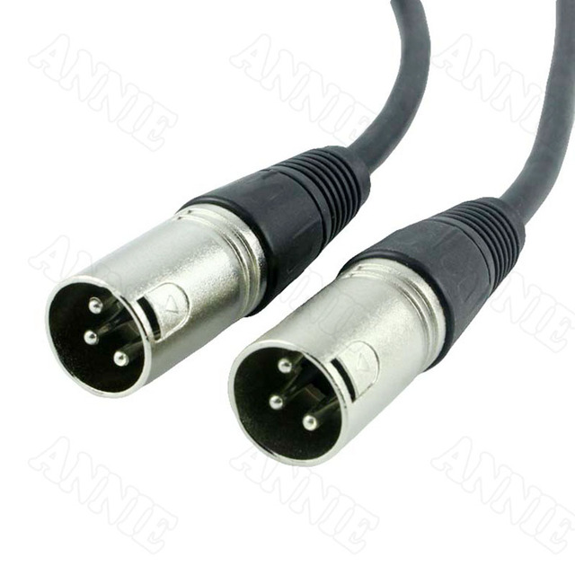 Xlr Wire   5pcs Lot Xlr Balance Male To Male Plug Audio Jack Microphone Console