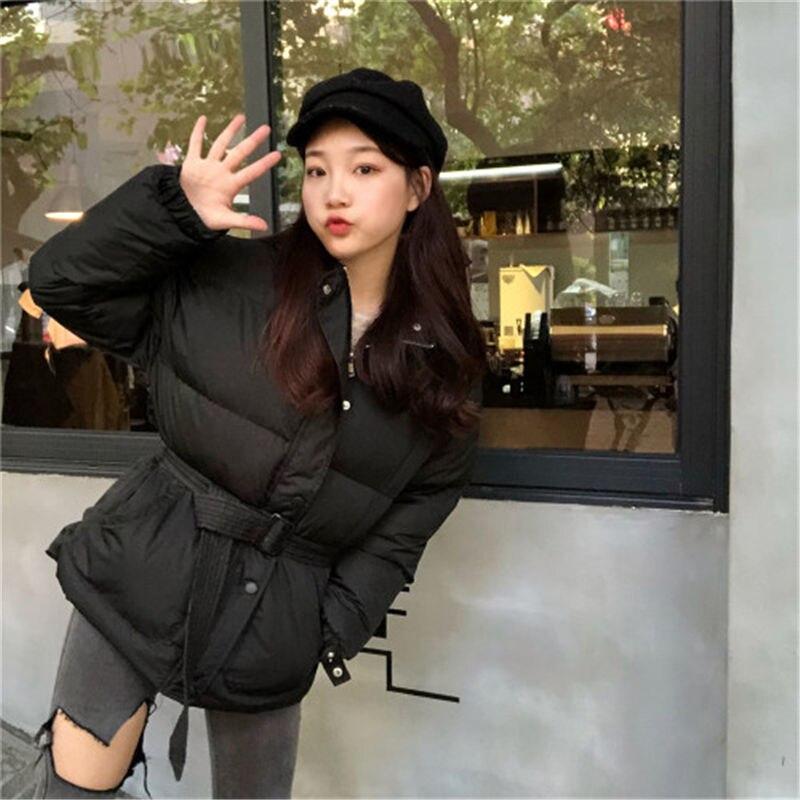 De Complet Solide Femmes Capuche Coréenne Lady Femelle Vestes Avec D'hiver Épais 2018 Manches Nouvelle Black white green Office Nouveau Mince Chaud Mode Hzirip Dentelle dxwUItaq88
