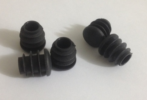 Diameter 16mm Size 5/8  Plastic pipe plug square round square stools and chairs : plastic feet for stools - islam-shia.org