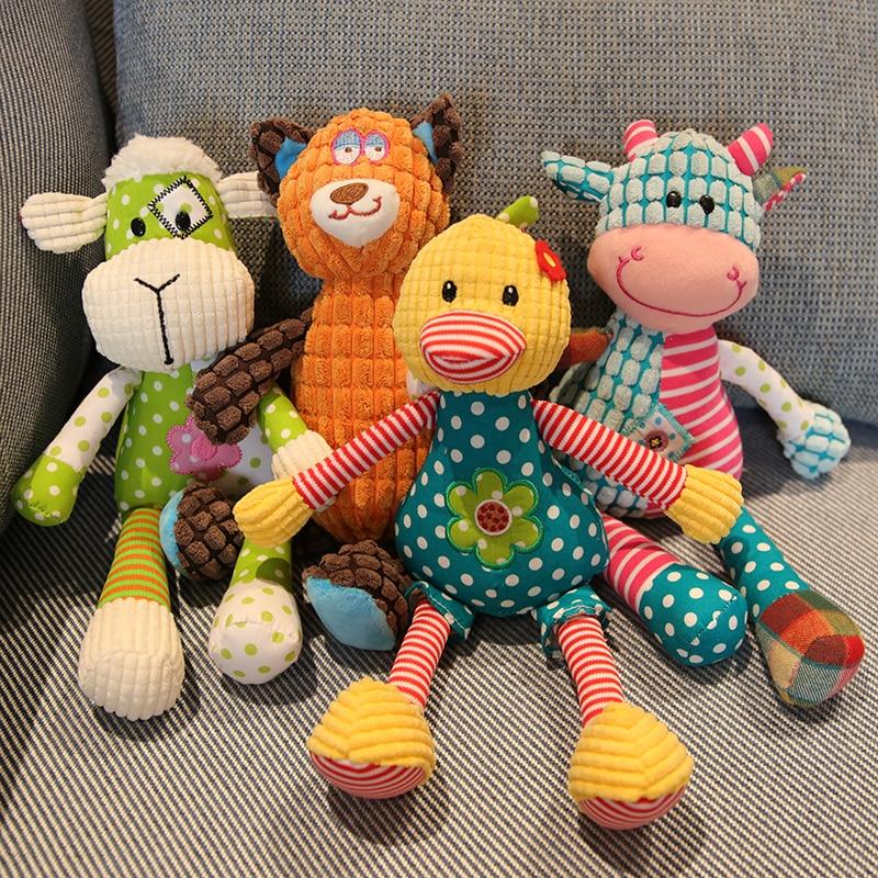 Newborn Baby Toys 0 12 Months Cartoon Soft Plush Baby Boy Toys For Toddlers Baby Souvenirs Brinquedos Para Bebe Oyuncak