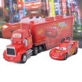 2PCS/LOT  Cars Diecast No.95 Mack Racer's Truck  Metal Toy Car For Children 1:55 Loose Brand New In Stock