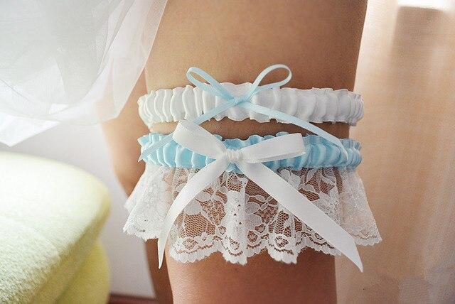 Frauen Sexy Dessous Strumpfband Gesetzt Weißen Spitzenband Beine ...