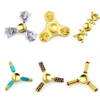 Hot Fidget Spinner EDC Metal Bearing Triangle Hand Fidget Toy Gyro For ADHD, Anxiety, & Autism Adult Kid Stress Wheel