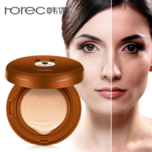 ROREC Air Cushion BB &CC Creams Liquid Foundation Concealer Makeup Base Primer Cosmetics Face Cream Oil Control Brighten Skin