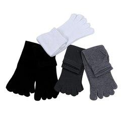 5 пар; пять отдельных пальцев; удобные носки из хлопка