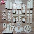 Frete grátis diy reprap prusa mendel i3 abs peças plásticas Kit Prusa i3 quadro Acrílico peças de Impressora 3D impresso/branco