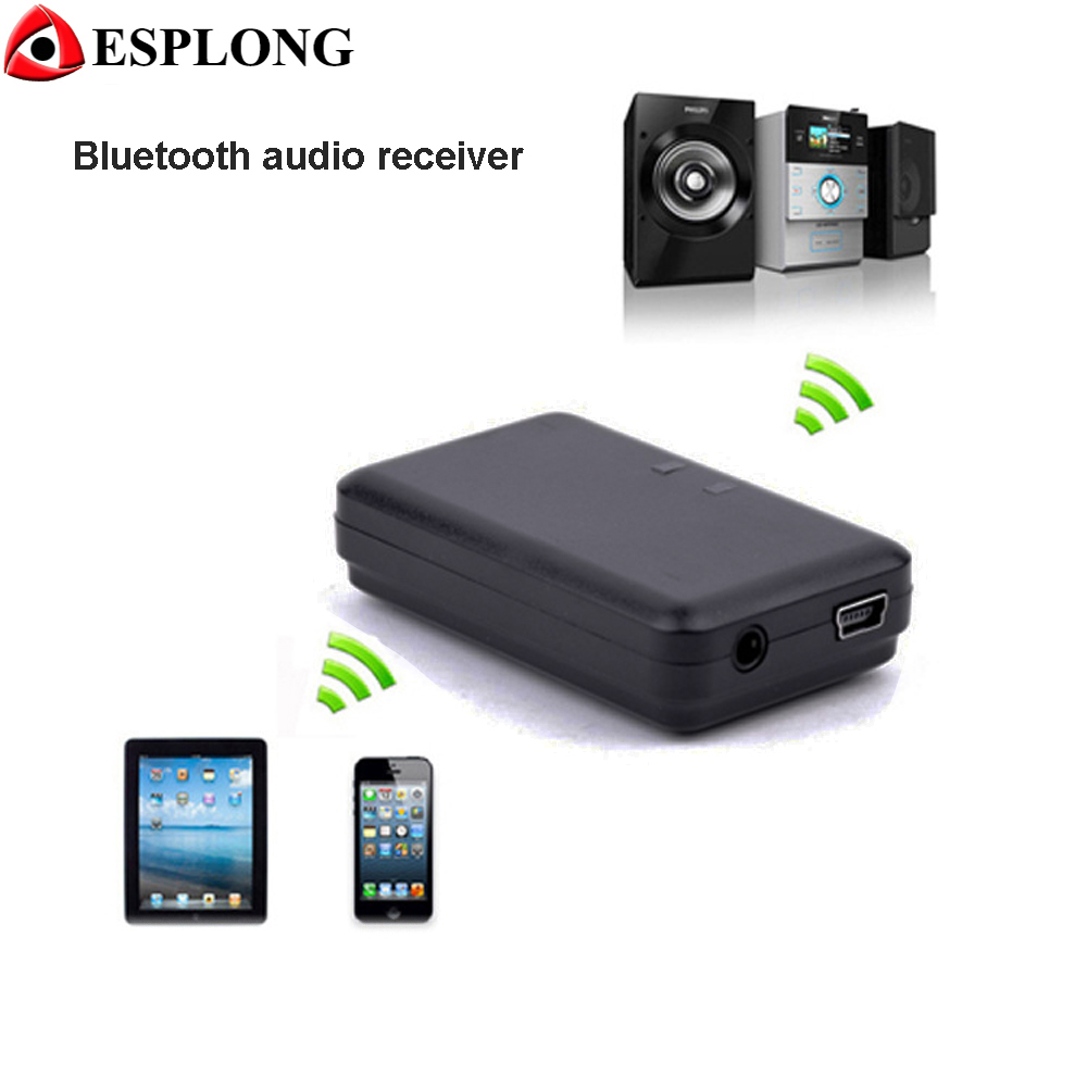 High Quality Mini Portable Audio Receiver 5V 3.5mm Jack Wireless Bluetooth Receiver A2DP Music Home Car AUX Adapter for Speakers
