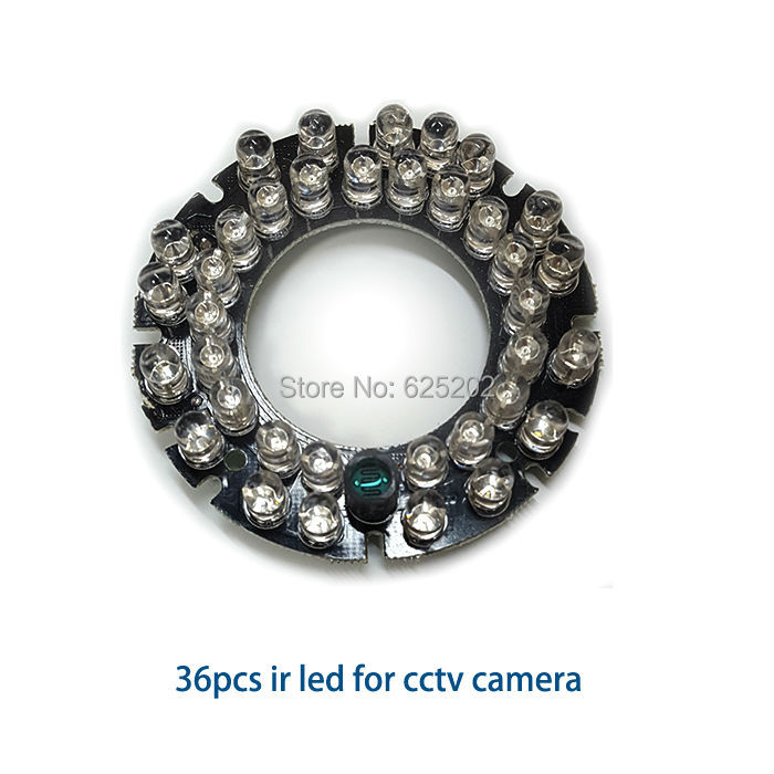 Factory Direct Sales 36pcs IR LED Board For Cctv Camera Assembly Using