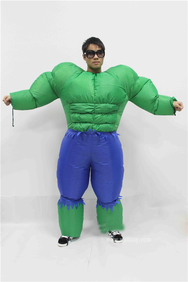 Adult Menu0027s Muscle Hulk Giant Halloween Inflatable Costume Suit Marvel Avengers Superhero Fantasy Fancy Dress Cosplay Clothing-in Anime Costumes from ...  sc 1 st  AliExpress.com & Adult Menu0027s Muscle Hulk Giant Halloween Inflatable Costume Suit ...