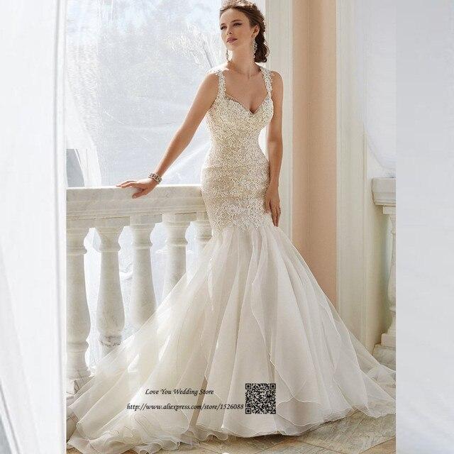 Neueste Design Boho Hochzeitskleid Spitze Rustikalen ...