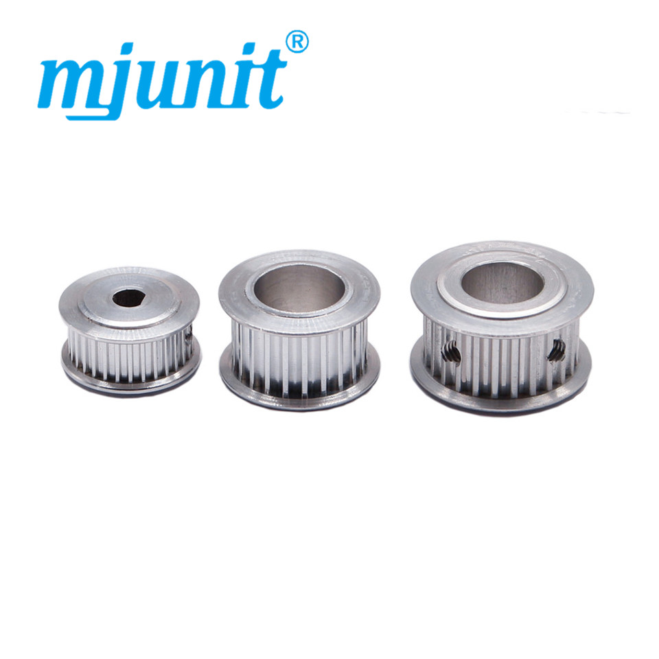 GT2 16T 20T Gear 3mm //5mm Pulley Aluminum for 3D Printer 6mm //10mm Timing Belt