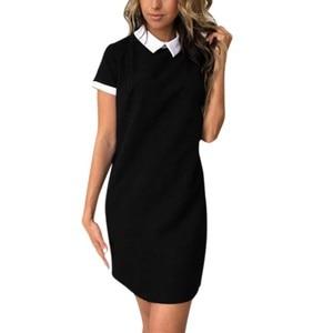 Women Girls Casual Slim Dress