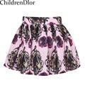 Girls Skirts Summer 2017 Brand Kids Tutu Skirt Designer Girls Pettiskirt Roupas Infantis Menina Kids Girl Skirt