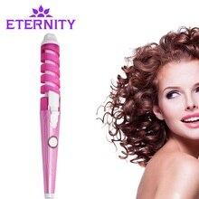 Электрический магический инструмент для укладки волос Rizador волосы бигуди Ролик монофункциональный спиральный плойка палочка Curl Styler NHC-8558