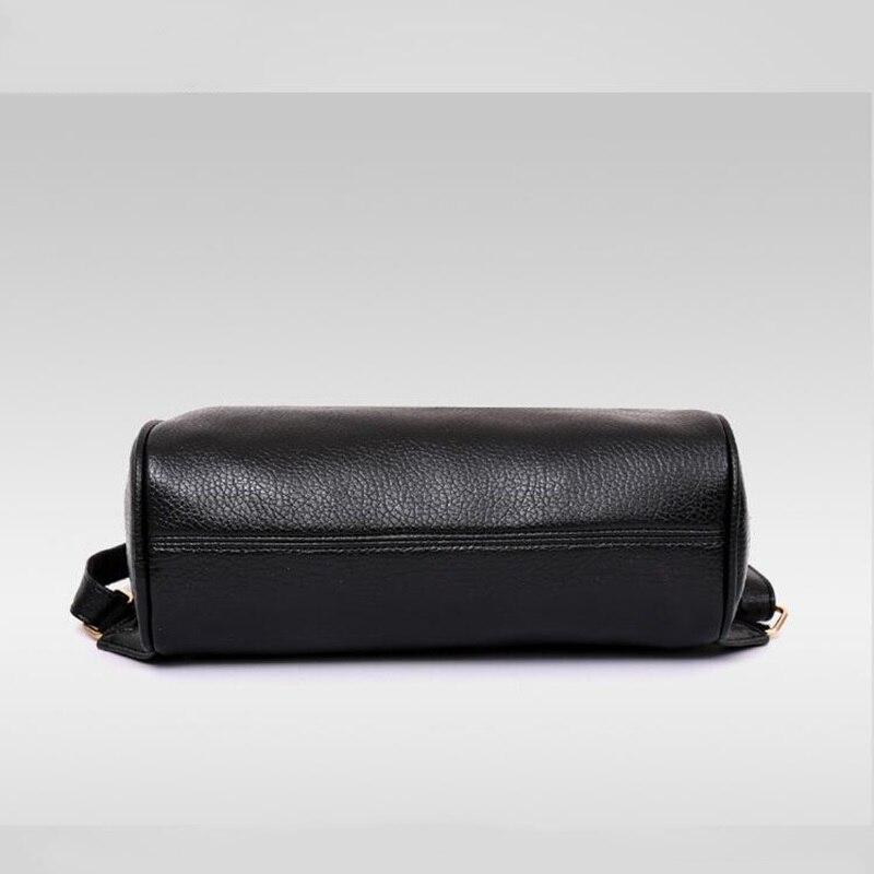 Panta shpine lëkure, çanta të rrumbullakëta të stilit të - Çantë e shpinës - Foto 6
