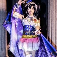 Lovelive School Yazawa Nico Cosplay Japanese Anime Love Live Idol Project Niko Constellation Awakening Costume Starry