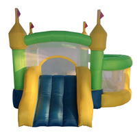 YARD Outdoor Cheap Small Inflatable Bouncer Castle Toys Inflatable Bounce House with Ball Pool for Kids