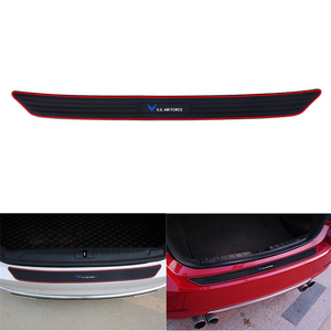 Protetor de borracha universal da almofada antiderrapante do amortecedor do protetor do risco do protetor traseiro do carro capa eua estilo da força aérea