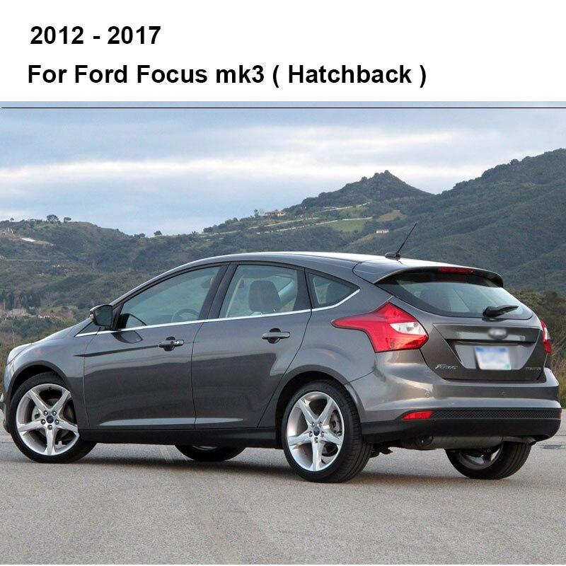 REFRESH Щетки стеклоочистителя для Ford Focus Mk2 / Mk3 Приспосабливаемые боковые штифты / кнопочные рукоятки Модель Год от 2004 до(Международная модель - Цвет: 2012 - 2017 (Hatch)