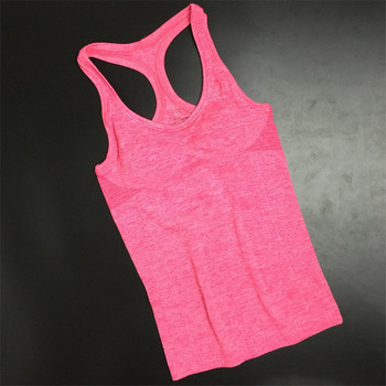 Summer Women Yoga Top Gym Comfortable Sports Sleeveless T Backless Shirts Sport Fitness Gym Shirts Running Clothes Singlets Tops 2