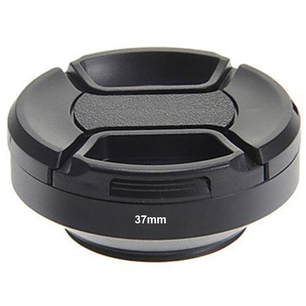 Только Сейчас ввинчивающийся Гора 37 мм Металл Широкоугольный Объектив Гуд с Объективом крышка для Canon для Nikon для Pentax для Сони для Сигма-Черный