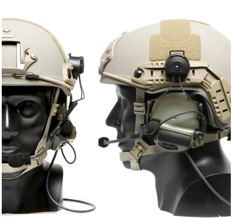adaptador ztac airsoft fone de ouvido acessórios z147