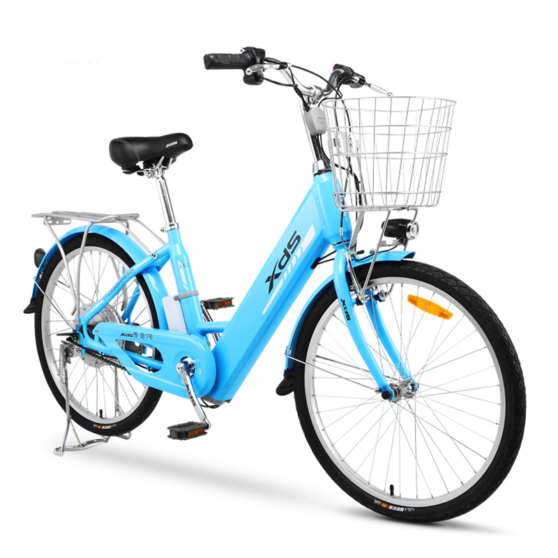 Electric bike  legend ultra-light aluminum alloy electric bicycle 48V lithium trolley 24-inch motorcycle electric city  ebike