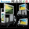 Leeman Sinoela USA market high quality good price Advertising P10 Truck Mobile Led Display,Bus Led Display,Taxi Led Display sign