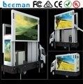 Leeman caminhão móvel levou exibição Sinoela P10 publicidade mercado dos eua, De led, Táxi levou sinal