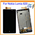 """4.3"""" New for Nokia Lumia 820 LCD Screen Display + Touch Screen Digitizer Assembly with Frame Black + Tools Free Shipping"""