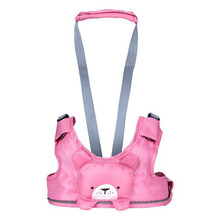 Best baby 4 in 1 Baby Cartoon Vest Harness Toddler Anti-lost Belt child safety Learning walking Assistant Bibi Voice Belt New