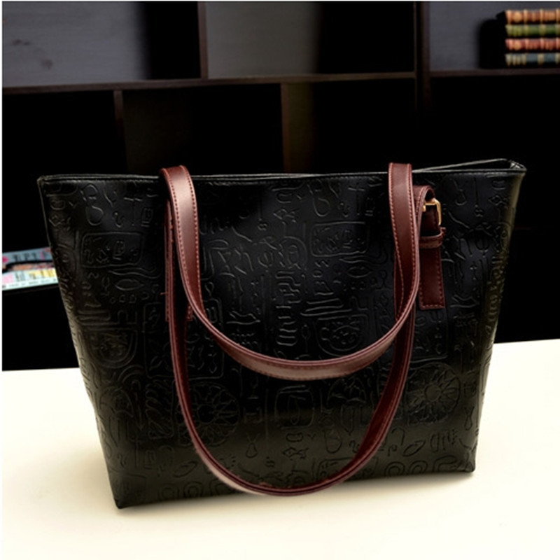 New Model Women Bag 2015 Most Popular European And American Styled Fashion  Soft Leather Handbags-in Shoulder Bags from Luggage   Bags on  Aliexpress.com ... 17d0c9fd7f