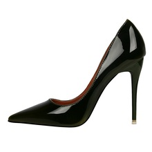2017 Brand Shoes Woman High Heels Women Pumps Stiletto Thin Heel Women's Shoes Pointed Toe High Heels Wedding Shoes Black Blue