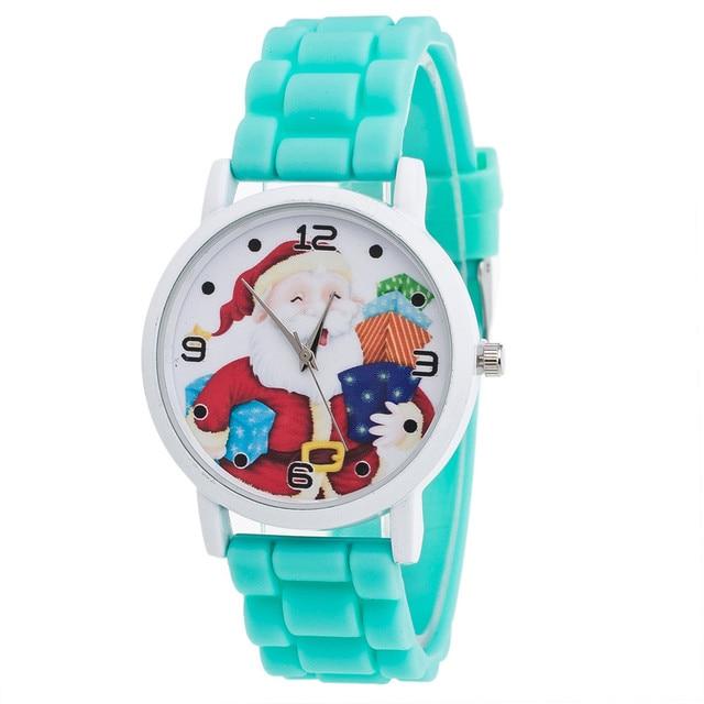 Xiniu Children's Watch Candy Color Female Silicone Strap Wrist Watch Women Clock