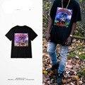 Трэвис скотт майка мужчины группа хип-хоп тройник с коротким рукавом уличная футболки женщины Rihanna топы