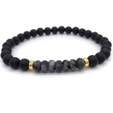 Ball Nature Stone Beads Fashion Charm Bracelets For Jewelry Gift