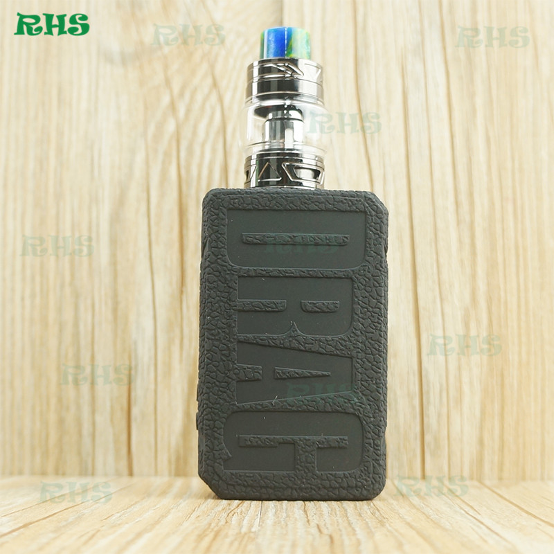 2019 New Resin 177W E-cigarette VOOPOO Drag 2 Kit Silicone Case Cover Sleeve Soft Touching From RHS Factory 2pcs Fast Shipping