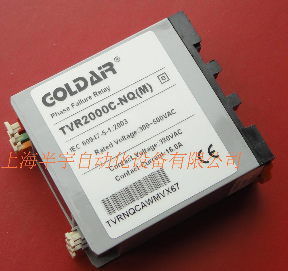 new original Phase failure, phase sequence protection relay device TVR2000C-NQM special crane driving saimi skdh145 12 145a 1200v brand new original three phase controlled rectifier bridge module