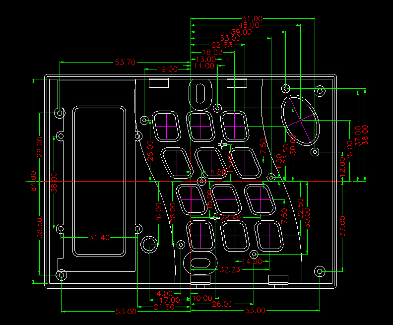 US $14 8  4 pcs, 120*88*18mm szomk RFID door access control housing for pcb  electronic enclosure plastic outlet equipment enclosure box-in Connectors